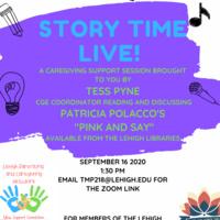 Story Time Live! Caregiving Support Session | Center for Gender Equity