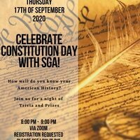 Constitution Day with SGA