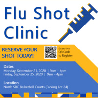 Free Flu Shots on Campus for UCR Employees