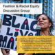 Fashion & Racial Equity Discussion Group
