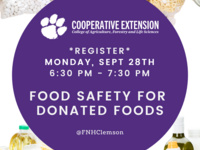 Food Safety for Donated Foods