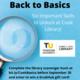 Virtual: Back to Basics Scavenger Hunt