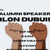 CAB Presents...Speaker: Marlon Dubuisson