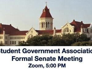 SGA Formal Senate Meeting