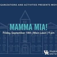 SOA Movies on Main: Mamma Mia!