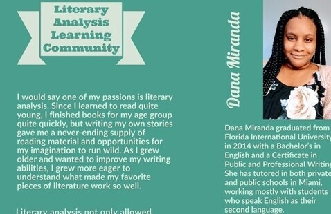 Learning Community: Literary Analysis