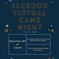Jackbox Virtual Game Night