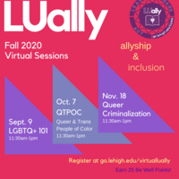 LUally Open Sessions   Pride Center