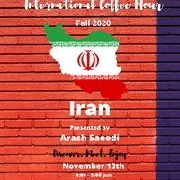 International Coffee Hour: Iran