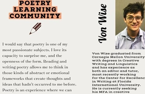 Learning Community: Poetry