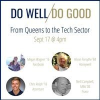 Do Well, Do Good Meetup: From Queens to the Tech Sector