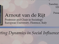 Self-Correcting Dynamics in Social Influence Processes - Arnout van de Rijt