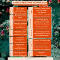 Latinx Heritage Month 2020