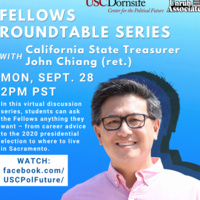 Fellows Roundtable with CPF Fellow John Chiang