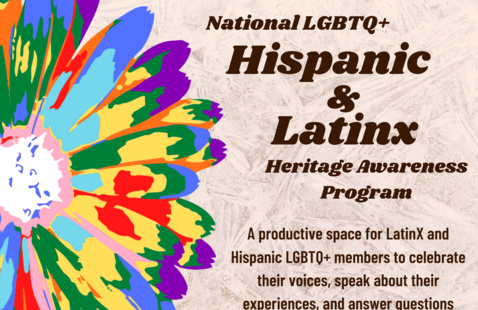 LGBTQ+ LatinX and Hispanic Heritage Awareness Program