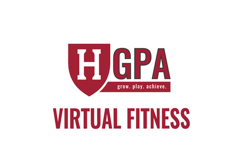 Harvard Athletics and Recreation GPA - virtual fitness building logo