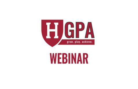 Harvard Athletics and Recreation GPA - webinar logo