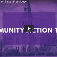 Community Action Talk:  Free Speech
