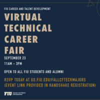 Career Fair - Technical Majors
