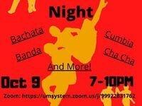 Virtual Latin Dance Night