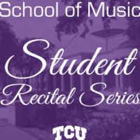 Student Recital Series: Will McLaughlin, saxophone.  Cecilia Kao, piano