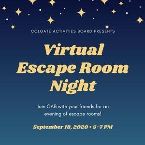 CAB Virtual Escape Room Night