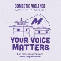 Domestic Violence Awareness Month 2020