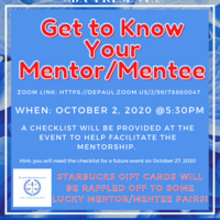 Get to Know Your SBA Mentor/Mentee