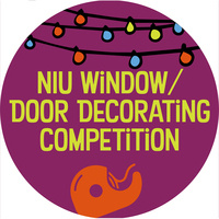 NIU Window/Door Decorating Competition