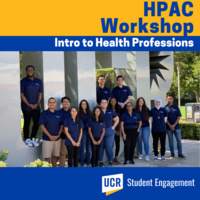 HPAC Workshop - Introduction to Health Professions