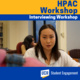 HPAC: Interviewing Workshop