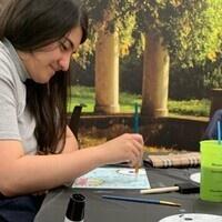 Painting with OLAS
