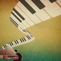 Piano graphic