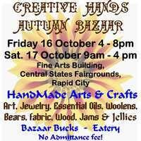 Creative Hands 13th Annual Autumn Bazaar 2 Day Event!