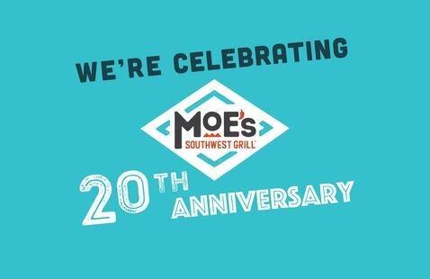 Moe's 20th Anniversary