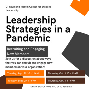 Leadership Strategies in a Pandemic - Recruiting and Engaging New Members