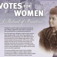 Votes for Women |  A Portrait in Persistence