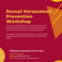 Sexual Harassment Prevention Workshop