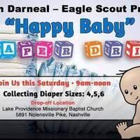 Eagle Scout Project - Lower Level Parking Lot