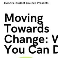 Moving Towards Change: What You Can Do