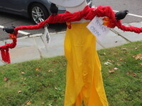 The 30th Annual Scarecrow Competition in Stony Brook Village