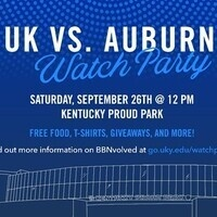 UK vs. Auburn Watch Party