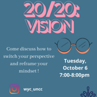 WYC at UNCC Meeting: 20/20 Vision
