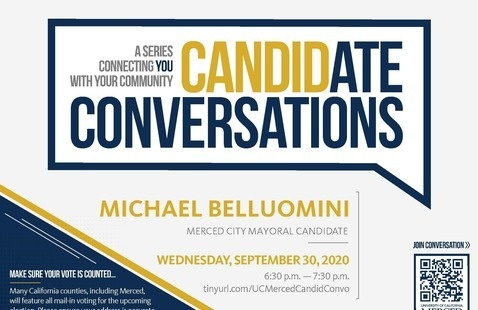 Candidate Conversations - Election 2020 - Mayoral Candidate Michael Belluomini