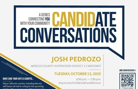 Candidate Conversations - Election 2020 - County Supervisor Candidate Josh Pedrozo