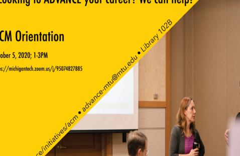 ACM Orientation Oct. 5, 2020 1-3pm