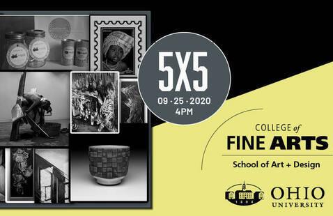 School of Art + Design: Annual 5x5 Event