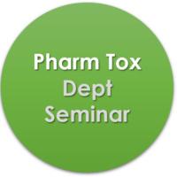 Pharmacology & Toxicology Dept Seminar logo