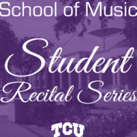 Student Recital Series: Taylor Courtney, clarinet.