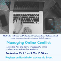 Managing Online Conflict | International Center for Academic and Professional English